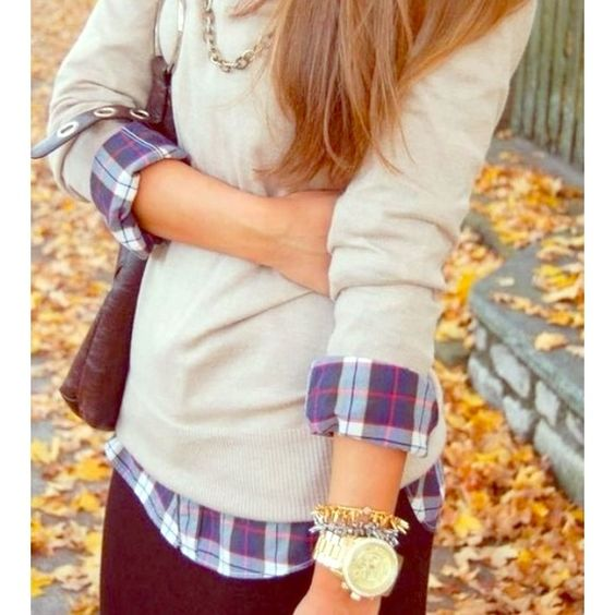 flannel-and-sweater